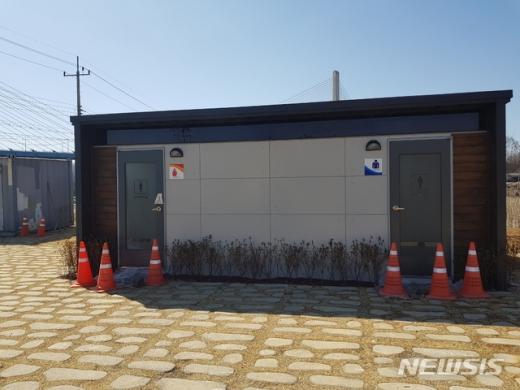 연천군은 공중화장실 이용불편과 안전개선을 위해 '민간개방화장실 남녀분리와 안전개선 지원사업'을 시행하고 있다고 3일 밝혔다. / 사진제공=연천군