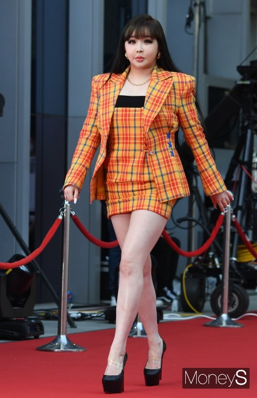 [머니S포토] 박봄 '현실판 바비인형'