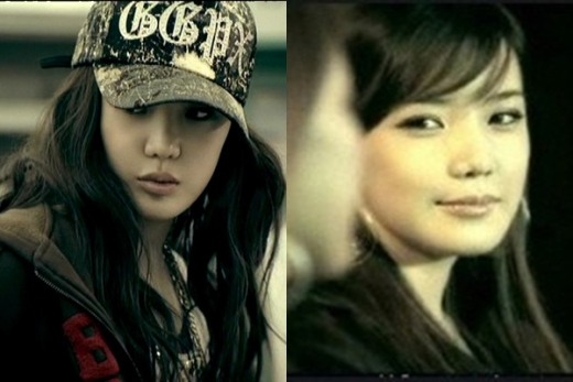 가수 박봄의 리즈 시절이 재조명되고 있다. /사진=애니콜 광고 캡처