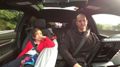 캐나다 출신 매튜가 둘째딸 에블린과 어린이날을 맞아 생애 첫 '부녀 여행'을 떠났다. /사진=MBC 제공