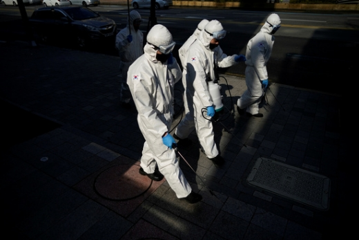 국내 신종 코로나바이러스 감염증(코로나19) 신규 확진자가 38명 추가됐다. /사진=로이터