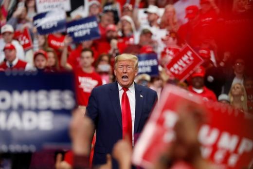 도널드 트럼프 미국 대통령이 2주 안에 선거운동을 재개할 전망이다. /사진=로이터