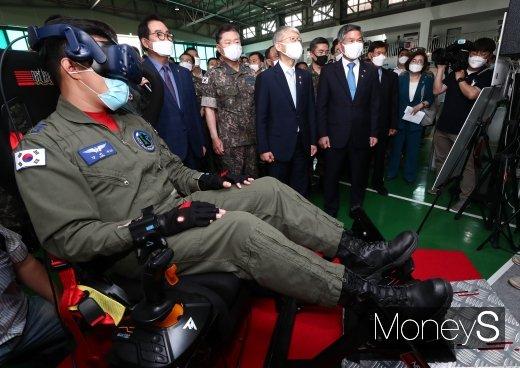 [머니S포토] 'KT-1 비행교육훈련체계'