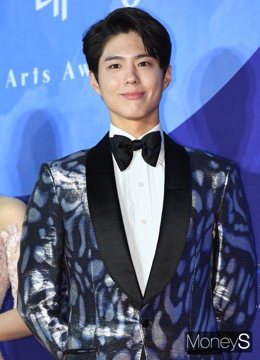 배우 박보검이 해군 군악병이 된다. /사진=장동규 기자
