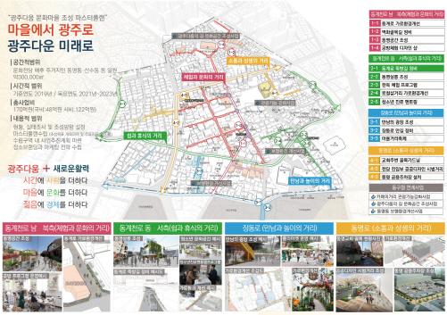 광주문화마을 3D판넬/사진=광주광역시