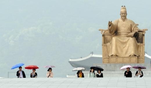 내일(29일)은 전국이 차차 흐려지다가 비가 내리겠다./사진=허경 뉴스1 기자