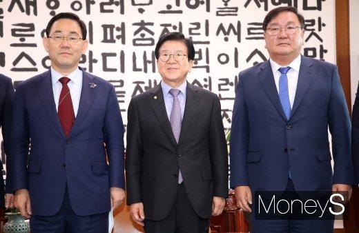 """[속보]국회의장실 """"민주당 18개 상임위원장 임명키로"""""""