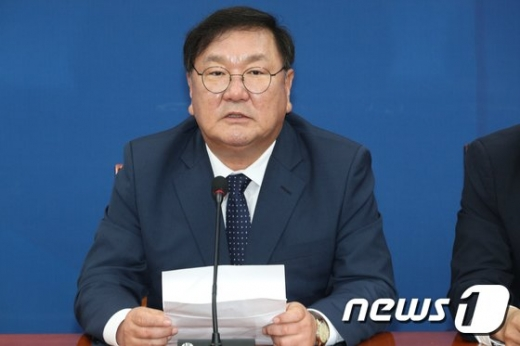 [속보]국회 운영위원장, 김태년 민주당 원내대표 선출