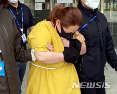 [속보] 9세 아동 여행가방 넣고 사망케한 40대 女 살인혐의 적용