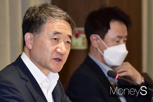 [머니S포토] 발언하는 박능후 보건복지부 장관