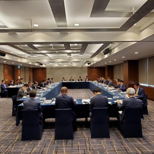 해건협이 해외건설 수주플랫폼 2020년 2차 본회의를 열고 해외 수주 활성화를 위한 의견을 나눴다. /사진=해외건설협회