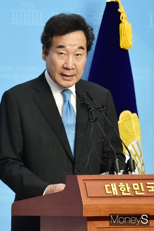 [머니S포토] 이낙연, 정치권 관심 속 당권 행보 '첫발'
