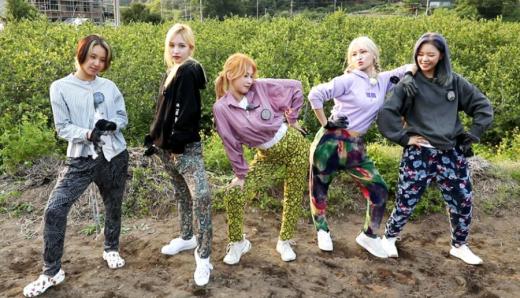 지난달 8일 걸그룹 트와이스가 '6시 내고향'에 출연했다. /사진=KBS 제공