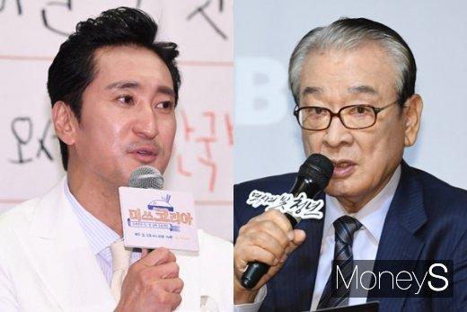 이순재(오른쪽) 매니저의 논란이 채 가시지도 않은 상황에서 신현준(왼쪽)이 매니저에게 갑질을 했다는 의혹에 휩싸였다. /사진=장동규 기자