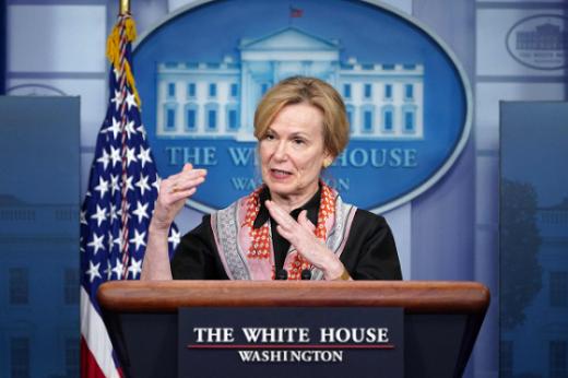 데보라 벅스 백악관 코로나19 TF 조정관.© AFP=뉴스1 자료