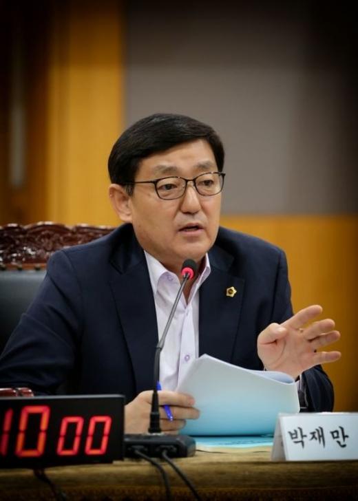 경기도의회 제3기 예결위, 박재만 위원장. / 사진제공=경기도의회