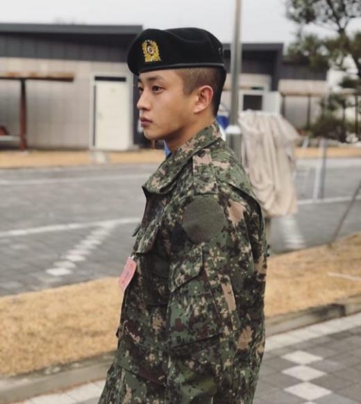 배우 김민석이 부대 복귀 없이 전역, 민간인 신분이 된다. /사진=김민석 인스타그램