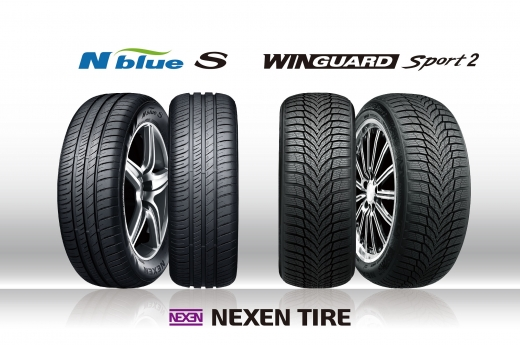 넥센타이어가 '엔블루 S'와 '윈가드 스포츠 2' 제품을 폭스바겐에 공급한다. 해당 제품은 8세대 골프에 적용된다. /사진=넥센타이어