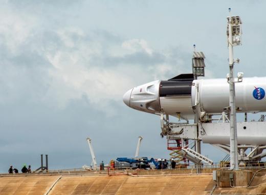 우주탐사기업 '스페이스X'가 지난 5월 처음으로 민간 유인우주선을 발사했다. /사진=로이터