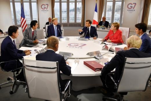 27일 로이터통신 등에 따르면 도널드 트럼프 미국 대통령이 주요 7개국(G7) 회의에 한국과 호주, 러시아, 인도를 초청하고 싶다고 밝힌데 대해 독일이 반대 의사를 전했다. /사진=로이터