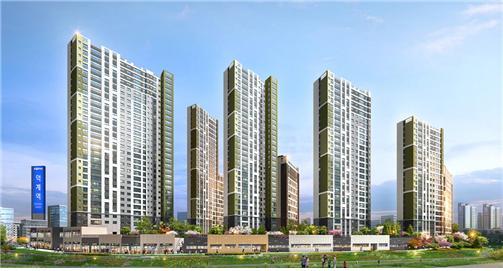 '양주회천 덕계역 대광로제비앙'은 지하 2층~최고 29층 아파트 6개동으로 조성된다. 전용면적별로 ▲84㎡A 178가구 ▲84㎡B 56가구 ▲100㎡ 190가구 총 424가구 규모다. 총 2만2000여가구로 계획된 양주 회천신도시에서 유일한 중대형 면적 단지다. /사진제공=피알메이저