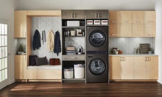 LG전자가 원바디 세탁건조기 'LG 워시타워'를 다음달부터 해외에 출시한다. / 사진=LG전자
