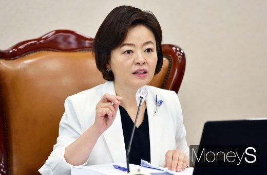 [머니S포토] 발언하는 진선미 국회 국토위원장