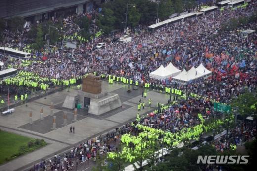 [속보] 광화문 집회 집단감염 200명 육박