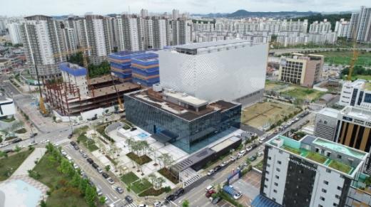 김포 한강신도시에 준공한 KB 통합IT센터 전경./사진=KB국민은행