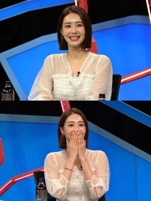 왕지혜가 결혼 2년 차 신혼생활을 언급한다. /사진=동상이몽2 제공