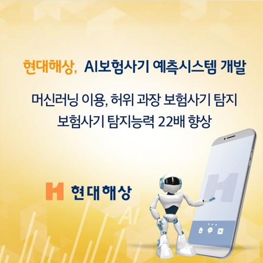 현대해상, '보험사기 탐지' 22배↑… AI 예측시스템 개발