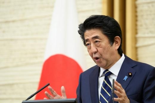 아베 신조 일본 총리는 28일 오후 5시 직접 사임 의사를 밝혔다. /사진=로이터