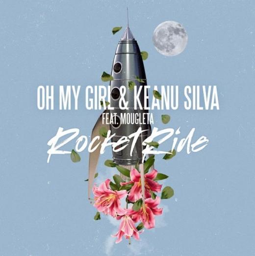 오마이걸이 키아누 실바가 컬래버레이션한 신곡 '로켓 라이드'를 28일 오후 6시 국내에 발매한다. /사진=WM엔터테인먼트 제공