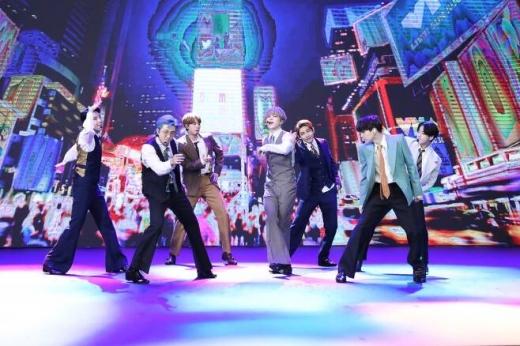 그룹 방탄소년단(BTS)이 제63회 그래미상 후보에 오를 가능성이 제기됐다. /사진=빅히트 엔터테인먼트 제공