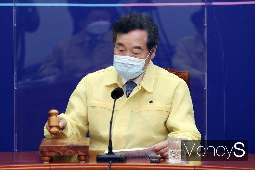 이낙연 더불어민주당 대표가 신종 코로나바이러스 감염증(코로나19) 검사 결과 음성판정을 받았다. /사진=임한별 기자
