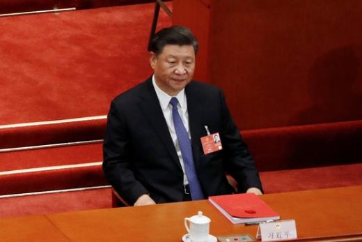 시진핑 중국 국가 주석이 지난 5월28일 중국 베이징에서 열린 전국인민대표대회에 참석해 있다. /사진=로이터