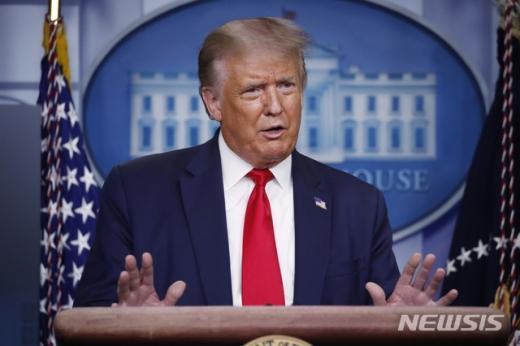 도널드 트럼프 미국 대통령./사진=뉴시스
