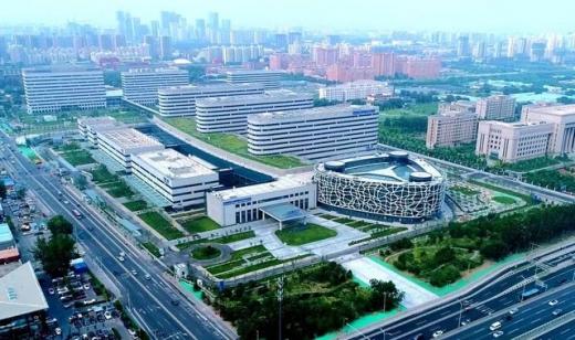 중국 탠탄병원 항공사진/'사진=지엔티파마