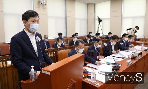 [머니S포토] 법안 제안설명 하는 김민철 의원
