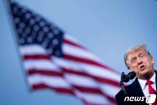 도널드 트럼프 미국 대통령. © AFP=뉴스1