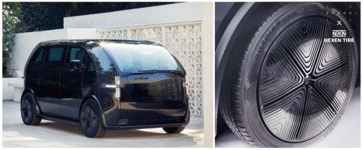 """미국 전기차 '카누', 넥센타이어 신는다… """"전기 SUV는 전용제품 필요해"""""""
