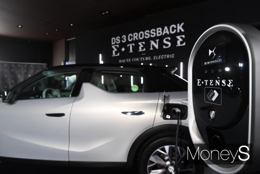 [머니S포토] DS 오토모딜의 브랜드 최초 전기차 DS 3 크로스백 E-텐스