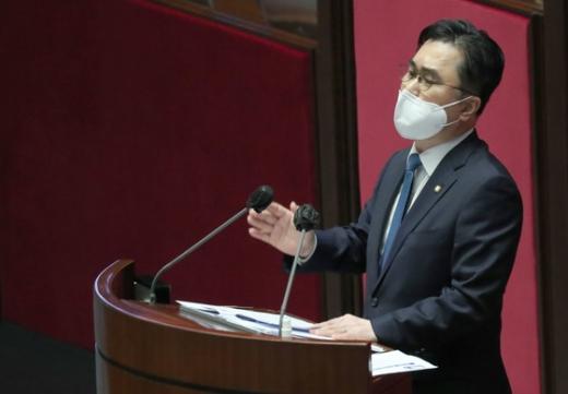 김종민 더불어민주당 최고위원이 공수처법 개정안을 빠른 시일 내에 통과시키겠다고 밝혔다. /사진=뉴스1