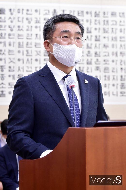 [머니S포토] 발언하는 서욱 국방 장관