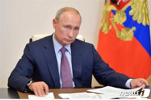 푸틴 러시아 대통령이 노벨평화상 후보에 올랐다./사진=뉴스1