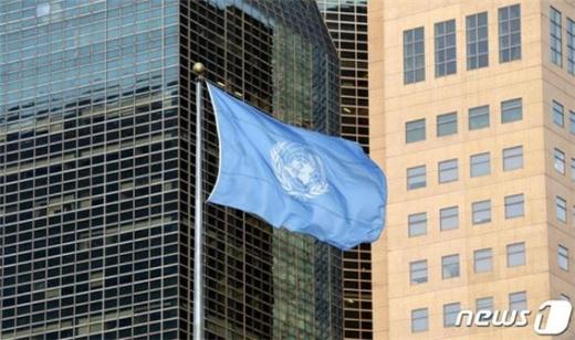 """유엔 사무총장이 코로나19 사태에 대해 """"통제불능""""이라며 한탄했다. 사진은 코로나19로 폐쇄됐던 유엔사무본부./사진=뉴스1"""