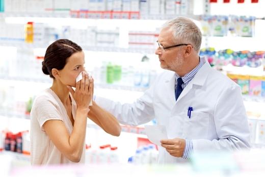 가을 환절기. 알레르기성 비염으로 고생하는 환자들이 늘어나고 있다./사진=이미지투데이