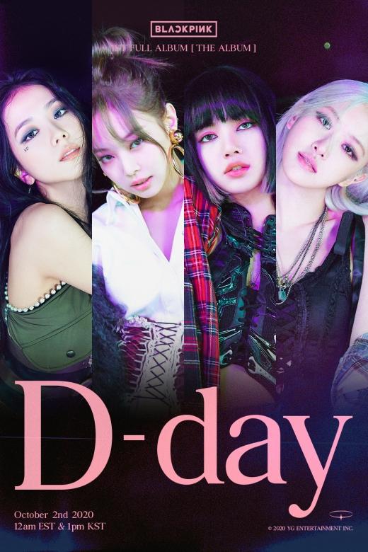블랙핑크 D-DAY 포스터./사진=YG엔터테인먼트