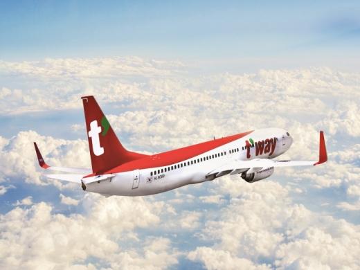 티웨이항공은 다음달 5일 인천-오사카(간사이), 6일 인천-도쿄(나리타) 노선에 주1회 운항을 시작한다고 7일 밝혔다. /사진제공=티웨이항공