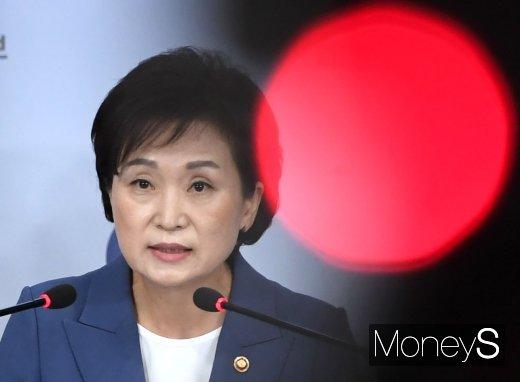 김현미 국토부 장관은 최근 최장수 국토부 수장 타이틀을 달았다. /사진=장동규 기자